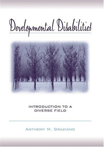 Developmental Disabilities: Introduction to a Diverse Field: 1st (First) Edition ebook