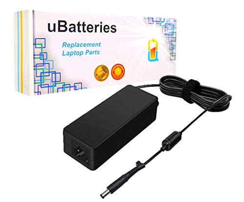 UBatteries Compatible 65W AC Adapter Laptop Battery Replacement For HP Pavilion Envy DV3 DV4 DV4t DV5 DV5t DV6 DV6t DV7 DV7t M4 M6 DM1 DM1z DM3 DM3t DM4 DM4t HC42, HP Spare Part# 677774-001 724264-001