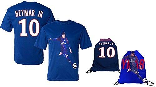 Neymar Jersey Style T-shirt Kids Neymar Jr Jersey PSG T-shir