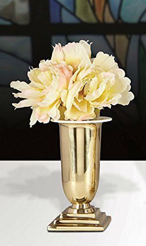 Set of 2 Vases Brass by AT001