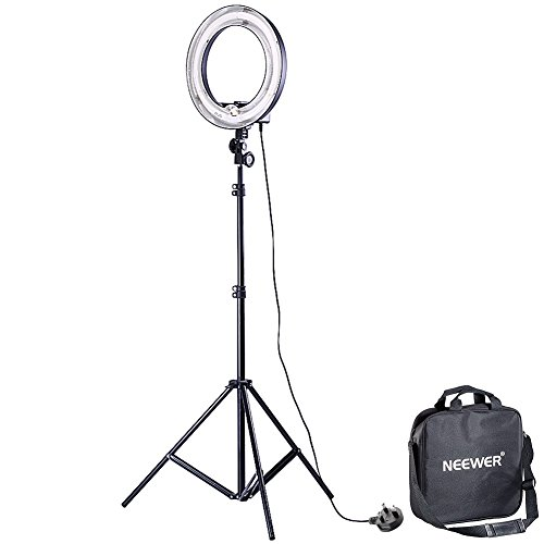 Neewer Camera Photo Video Ring Fluorescent Flash Light Kit, Includes (1)...