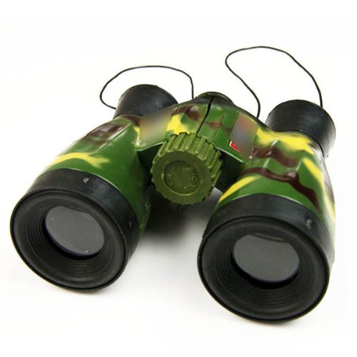 Camouflage Binocular Telescope Children Outdoor Exploration Educational Play Toy HuaYangca