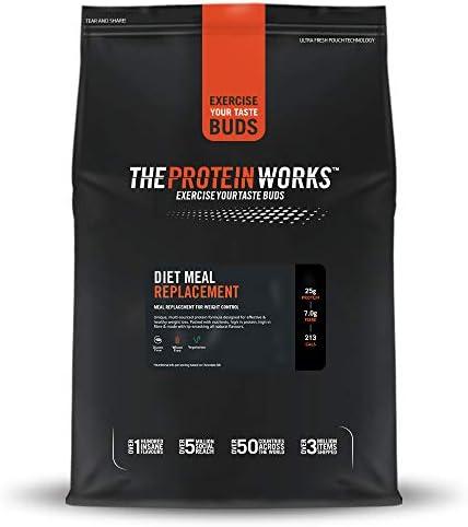 Complete Meal Replacement Shake | Nährstoffreich, Immunsystem stärkende Vitamine, preiswert, gesund, schnelle Diät Mahlzeit | THE PROTEIN WORKS, Cheeky Choc Coconut, 2kg