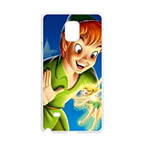 Samsung Galaxy Note 4 Cell Phone Case Covers White Peter Pan iofx