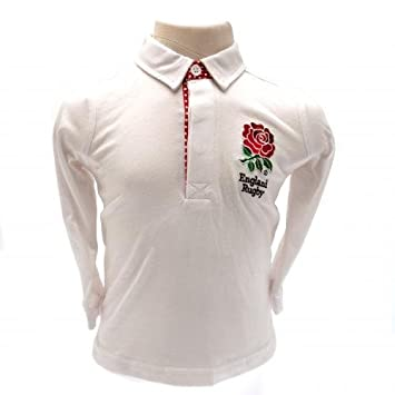 2eb22334458 England R.F.U. Rugby Shirt 18/23 mths Official Merchandise: Amazon ...