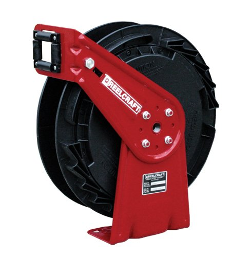 Hose Reel 1/4X50Ft Air/Water W/Out Hose by Reelcraft