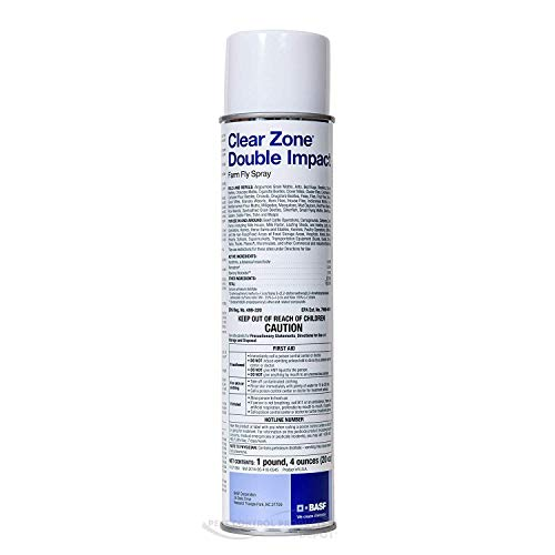 BASF Clear Zone Double Impact Farm Fly Spray ()