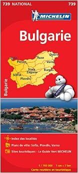 Carte NATIONAL Bulgarie