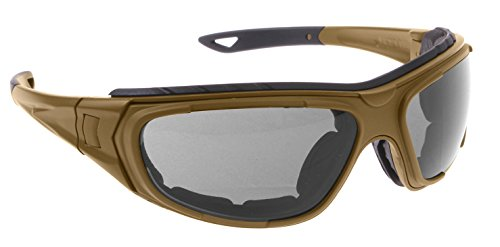 Airsoft Goggle System - Rothco Interchangeable Optical System, Coyote Brown