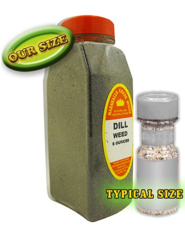 XL Size Marshalls Creek Spices Dill Weed 6 oz