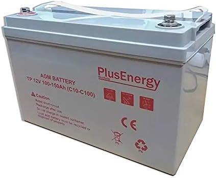 Bateau et Installation Solaire C10 Id/éal pour Camping-Car C100 150 Ah PlusEnergy Batterie AGM 12 V TP-150 100 Ah Caravane