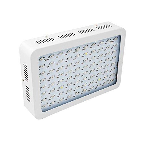 Asvert 800w LED Grow Light Full Spectrum Double Chips with UV & IR for Garden Greenhouse Indoor Plant Veg and Flower by Asvert