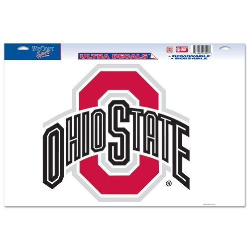 (Tromic Gifts WinCraft NCAA Multi Use Decal, Ohio State 11