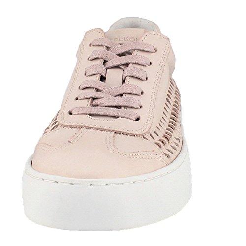 Maddison Womens Biana Stringate Casual Sneaker Rosa