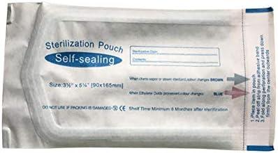 Sterilisationsbeutel , Sterilisationsbeutel , 200 Stück Dental Self Sealing Sterilisationsbeutel Sterilisationsbeutel