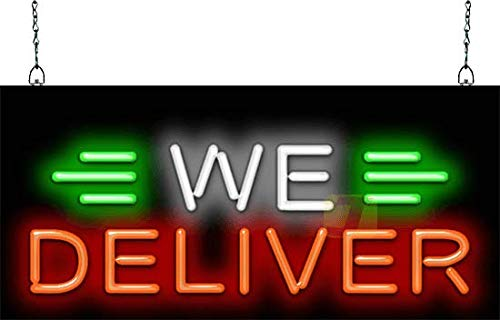 - We Deliver Neon Sign