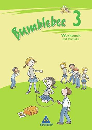 Bumblebee - Ausgabe 2008 für das 3. / 4. Schuljahr: Workbook 3 plus Portfolio- / Sprachheft (Bumblebee 3 + 4, Band 2)