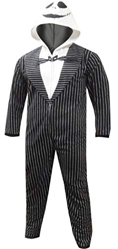 Nightmare Before Christmas Jack Skellington Onesie Medium -