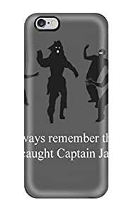 Hot Style VYNPXrg499rGHyz Protective Case Cover For Iphone6 Plus(ninja And Jack Sparrow)