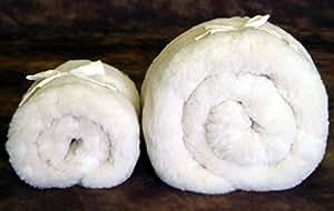 Holy Lamb Organics Happy Lamb Fleece Mattress Topper - Twin