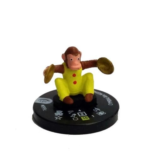 heroclix-dc-superman-and-the-legion-of-super-heroes-099d-cymbal-banging-monkey-complete-with-card