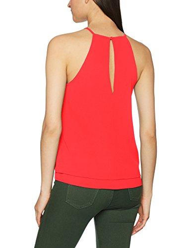 Only Onlmariana Myrina S/L Top Noos Wvn, Camiseta sin Mangas para Mujer Rojo (Poinsettia)