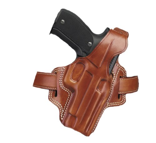 Galco Fletch High Ride Belt Holster for Glock 30, 29 (Tan, Right-hand)
