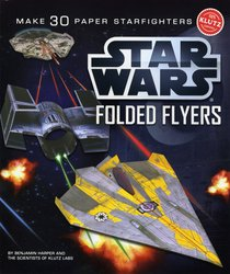 Star Wars Folded Flyers <br> Starfighters Craft Kit <br> Special Papers Included