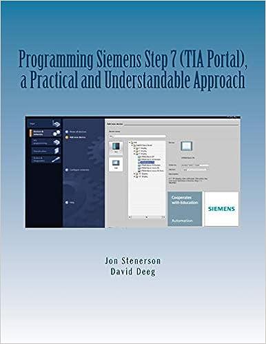 Programming Siemens Step 7 (TIA Portal), a Practical and