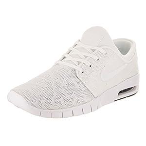 Nike Men's Stefan Janoski Max 114/White/WhiteobsidianSneakers - O/S