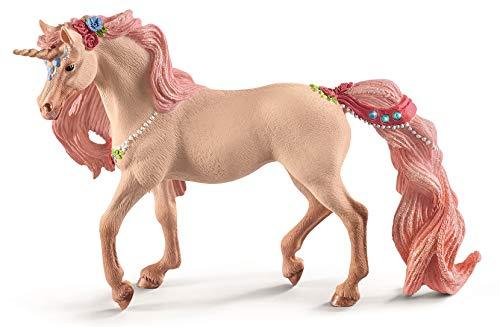 Schleich Decorated Unicorn Mare Toy, Multicolor ()