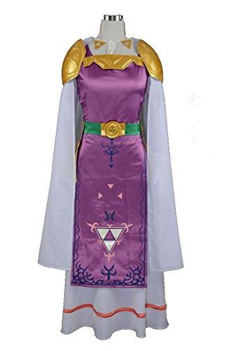 [RedstarCosplay The Legend of Zelda Princess Hilda Cosplay Costume - Custom-made] (Princess Zelda Cosplay Costume)