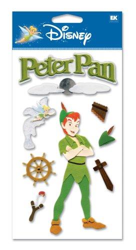 (Disney Peter Pan Dimensional Sticker)