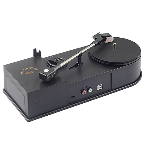 Pc Ipod Software Transfer - PiDiEn Tape Play Turntables USB Record Player Speed 33/45RPM Vinyl Turntables LP Music to MP3/WAV Converter,Save Digital Audio into PC,Transfer to MP3 player Iphone/Ipod/Phones,R/L Output to Speacker