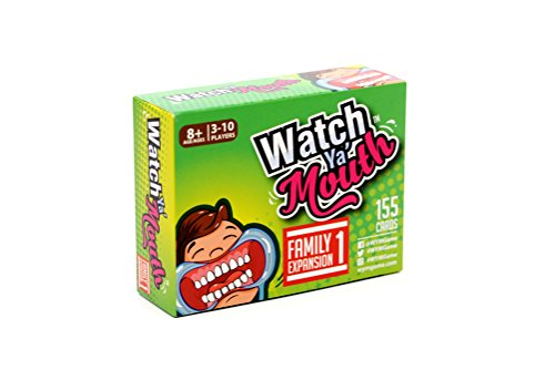 Watch Ya' Mouth Family Expansion #1 Card Game Pack, for All Mouth Guard Games