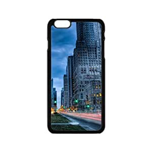 City streets road tilt shift Custom case cover for HTC One M8