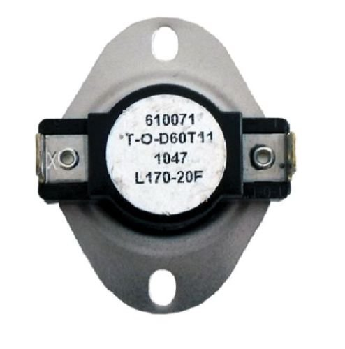 Room Air Conditioner Replacement Parts New L170 SPST Limit Control Thermostat Snap Disc L170-20F applies to the U.S. only by Air Parts
