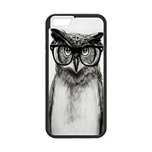 "DIY Phone Case for Iphone6 4.7"", Cut Owl Cover Case - HL-533025"