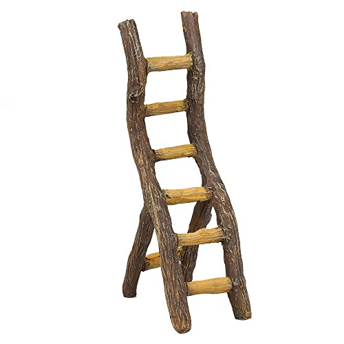 Fairy Garden Supply - Fairy Furniture - Rustic Ladder (Mini Ladder)
