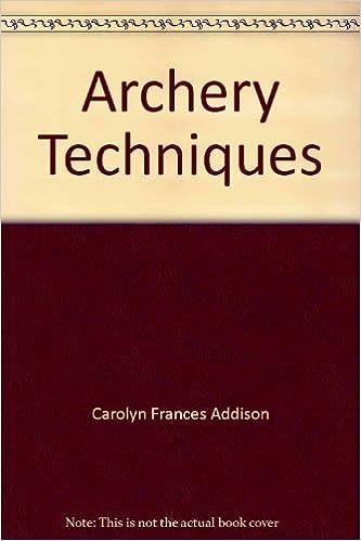 Descargar Libro Electronico Archery Techniques Leer Formato Epub