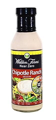 Walden Farms Salad Dressing, Chipotle Ranch, 12 Ounce