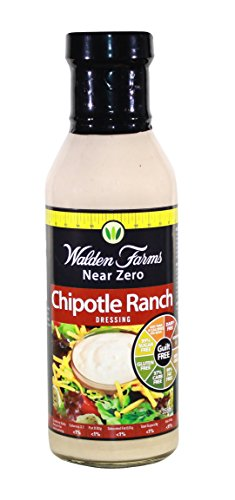 Walden Farms Salad Dressing, Chipotle Ranch, 12 (Low Calorie Salad Dressing)