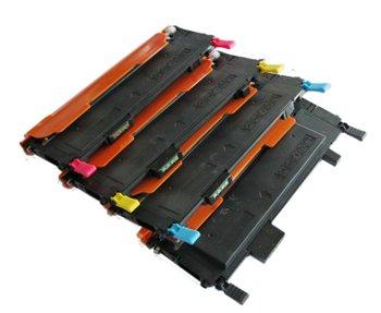 Clearprint © CLT-C407S, CLT-K407S, CLT-M407S, CLT-Y407S Compatible Color Toner Set for Samsung CLP-320, CLP-325, CLP-325w, CLX-318,5 CLX-3185FN printers