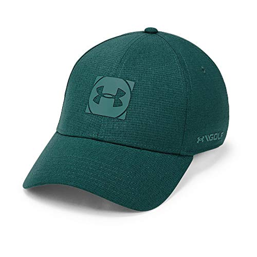 Under Armour Men's Official Tour 3.0 Golf Hat, Batik (366)/Dust, Large/X-Large - Golf Screen Print Cap