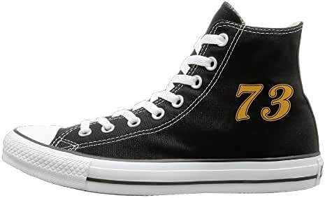 The Warriors 73 Wins Fashion Casual Canvas High Top Sneakers Unisex