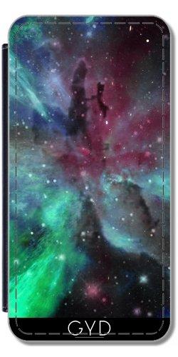 Leder Flip Case Tasche Hülle für Apple Iphone 7 Plus / 8 Plus - Ein Bunter Nebel by minx267