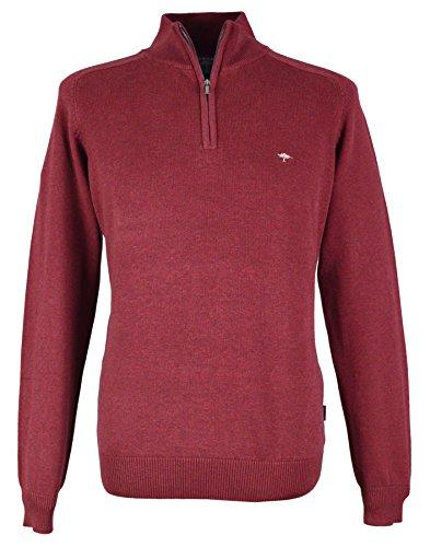 Fynch Hatton Herren Pullover Rot Pinotage