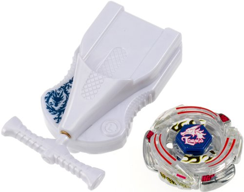 Beyblades JAPANESE Metal Fusion Battle Top Starter #BB43 Lightning LDrago 100HF Includes String Launcher! TAKARA TOMY