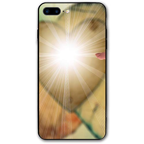 Believing Holy Spirit Light iPhone 8 Plus Case, iPhone 7 Plus Case, Ultra Thin Lightweight Cover Shell, Anti Scratch Durable, Shock Absorb Bumper Environmental Protection Case Cover
