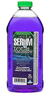 Jetted Hot Tub and Spa Cleaner: Total Maintenance Serum for Hot Tubs, Spas, Jetted Tubs and Whirlpools - Jet Tub Sanitizer Flush and Biofilm Spa Pool Purge